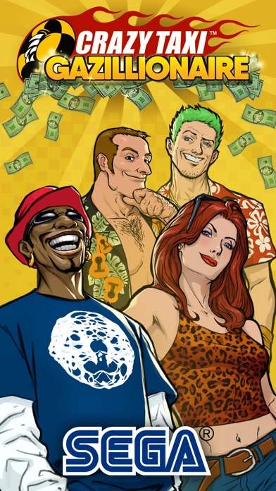 SEGA: Crazy Taxi Gazillionaire Screenshot