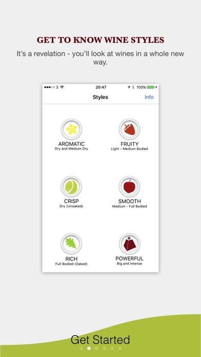 Screenshot do app Pocket Wine