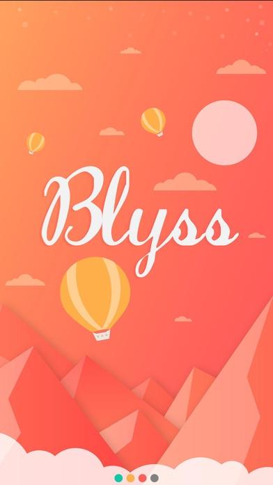 Screenshot do app Blyss