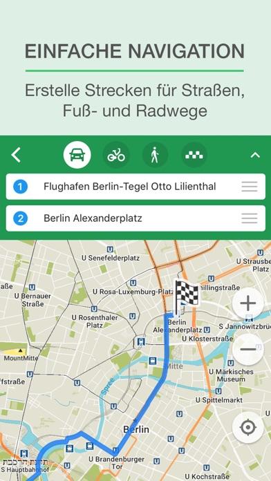 MAPS.ME Karte und Routenplaner Screenshot