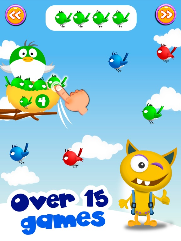Math learning games with Buddy Screenshot