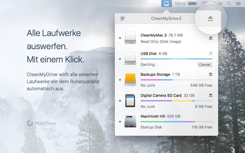 CleanMyDrive 2 Screenshot