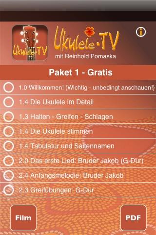 Ukulele-TV Screenshot