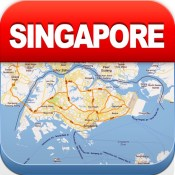Singapore Offline Map - City Metro Airport