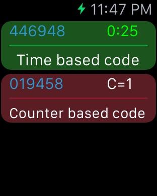 EasyOTP Screenshot