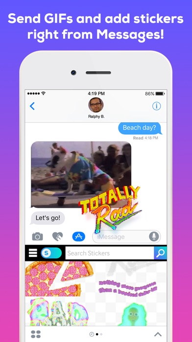 GIPHY. The GIF Search Engine for All the GIFs Screenshot
