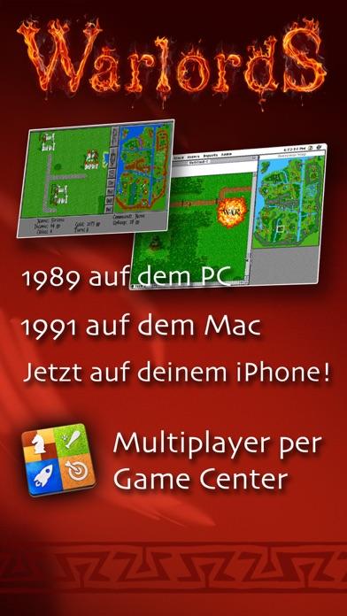Warlords Classic - die offizielle Mac/PC/Amiga Portierung Screenshot