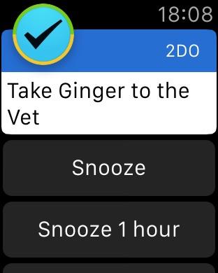 2Do - Reminders & Personal Planner Screenshot