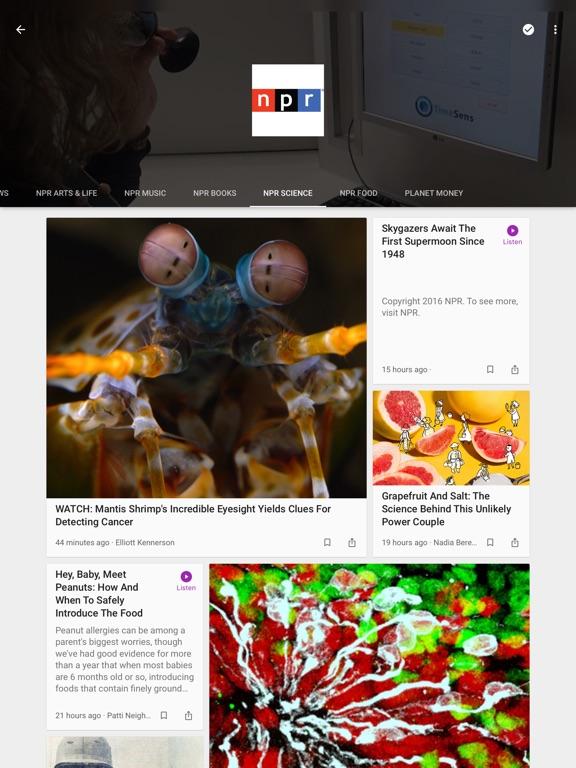 Google Play ニューススタンド Screenshot