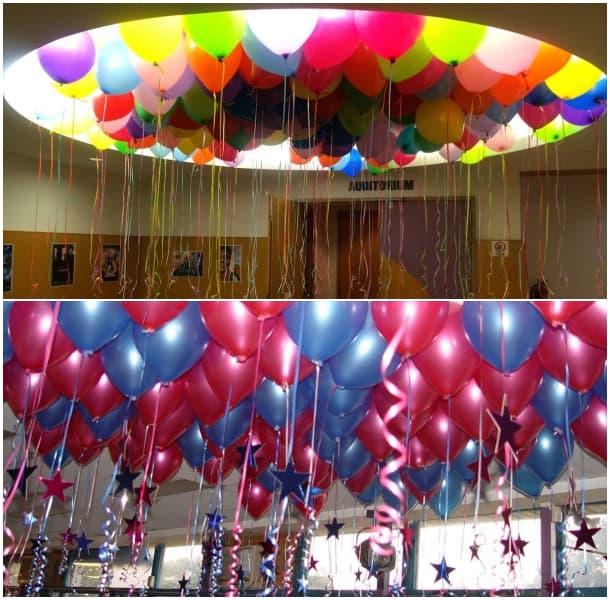 Decoracin con globos Ejemplos de globos decorados