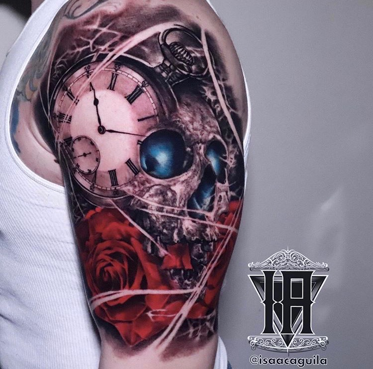 Isaac Aguila Tattoos
