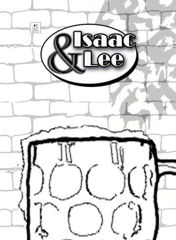 Isaac and Lee Issue 3 Cover Redux