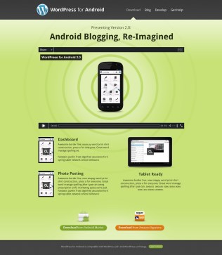 WordPress Mobile Apps Websites - Android