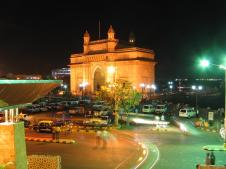 Gate Way India - Night View