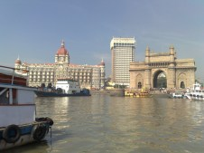 Gate Way India With Taj Hotel