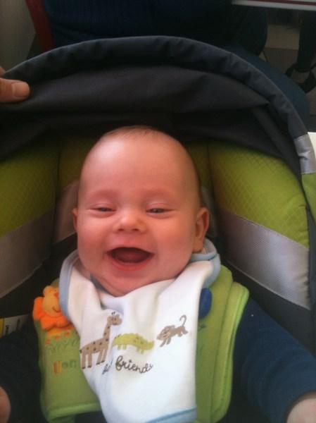 Baby Isaac Rock Star