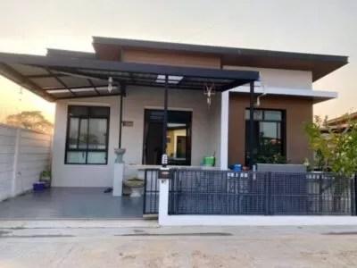 Compact 3 bedroom House in Buriram