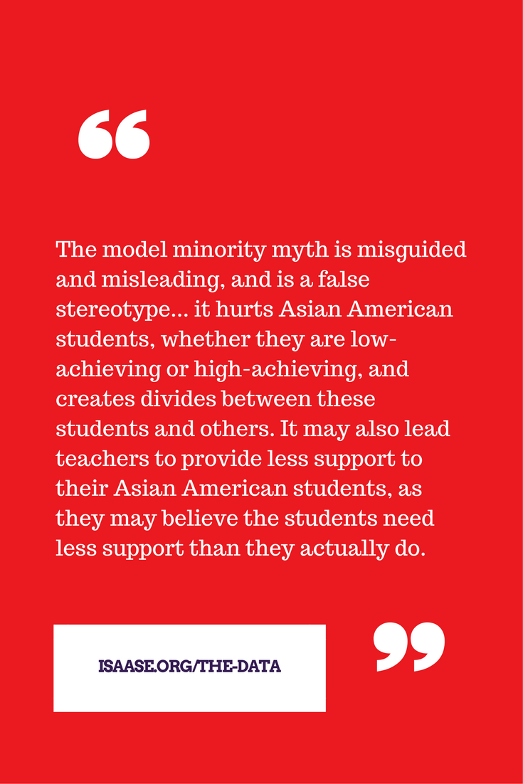 The Impact of the Model Minority Myth - ISAASE.org