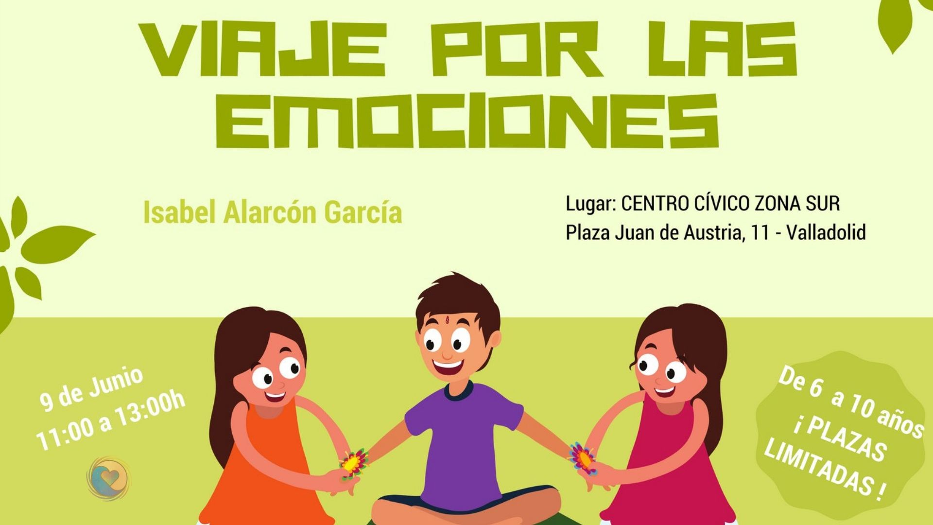 Taller para niños sobre las emociones