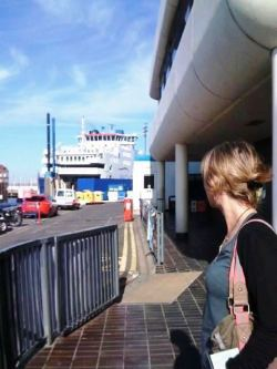 Catching the Wightlink ferry