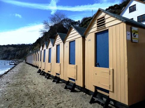 Shanklin beach huts