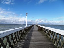 Yarmouth wooden pier