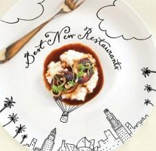 LA Magazine food illustrations