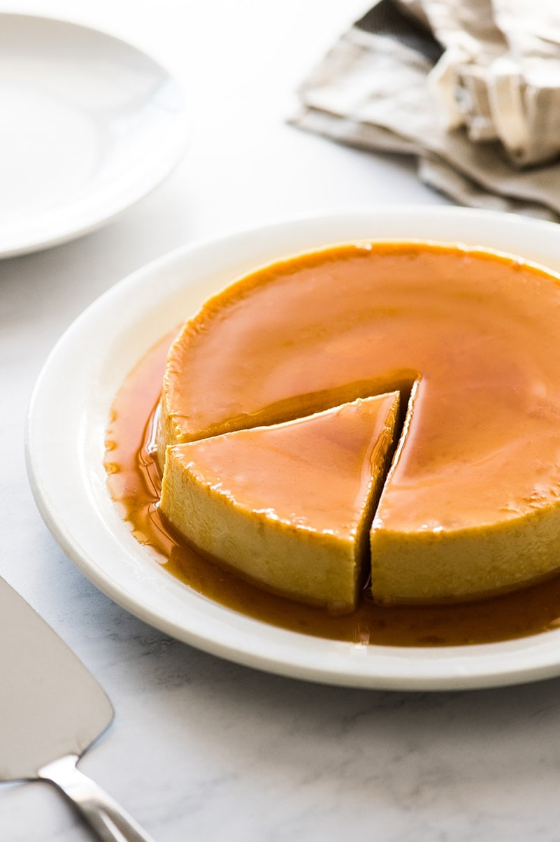 Flan From Scratch : scratch, Recipe, {Only, Ingredients!}, Isabel