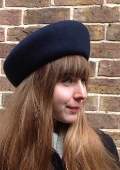 Navy French Blocked Beret
