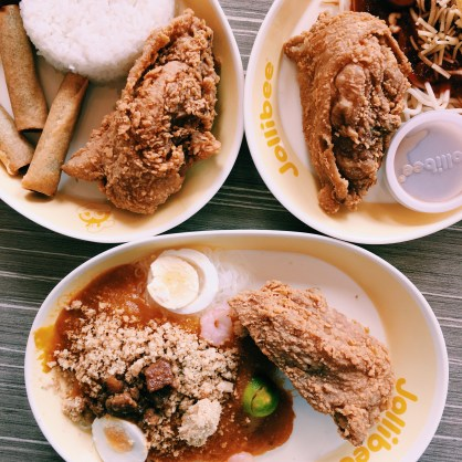Chickenjoy meals further glorified by VSCO C1 filter hehehe