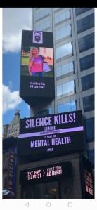 Isabella Mueller @isabella_muenchen NY Billboards 42nd street