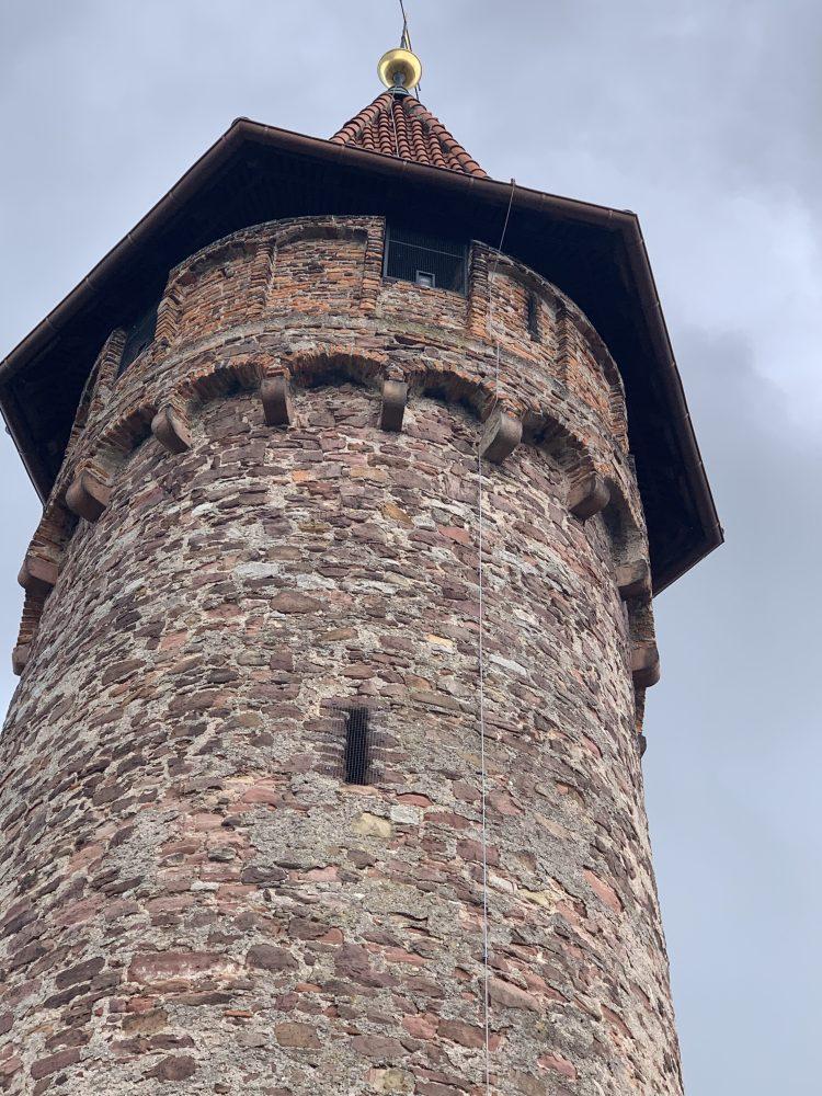 Ladenburg . Martinstor . Wormser Tor . Hexenturm . Mittelalter . Stadtmauer . IsabellaMueller . @Isabella_Muenchen