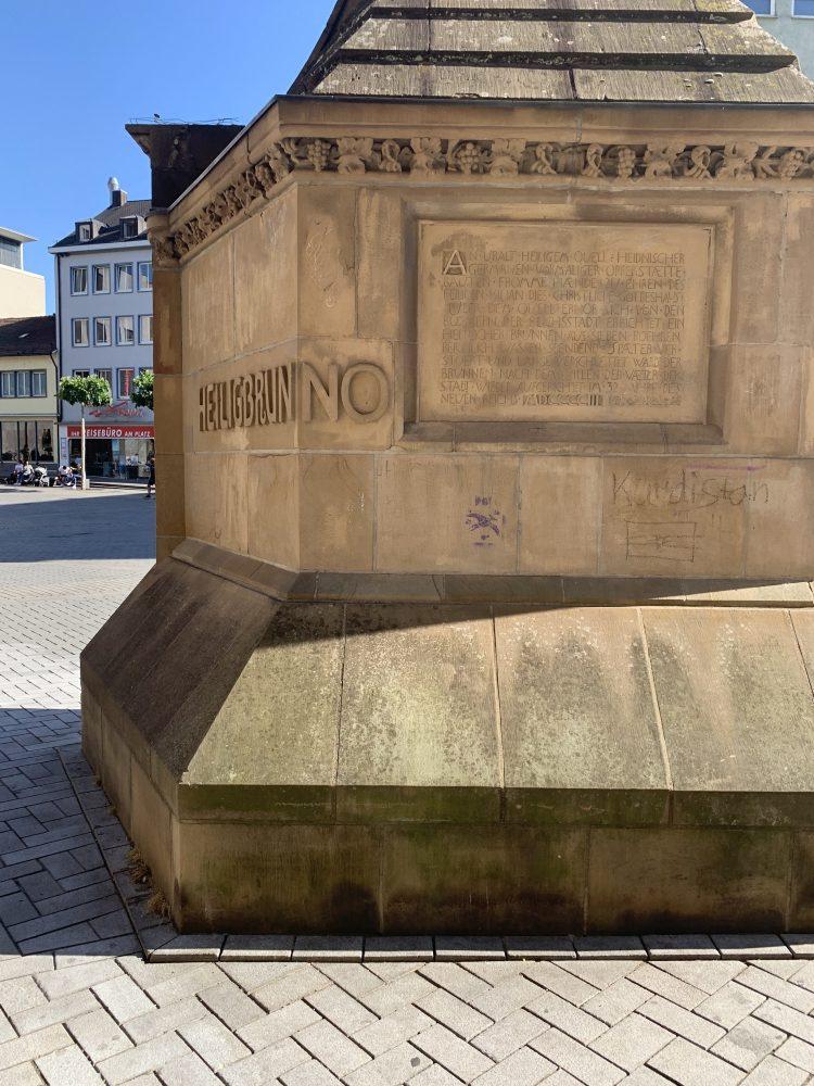 Siebenröhrenbrunnen . Heilbronn . Kilianskirche . Brunnen . IsabellaMueller . @Isabella_Muenchen
