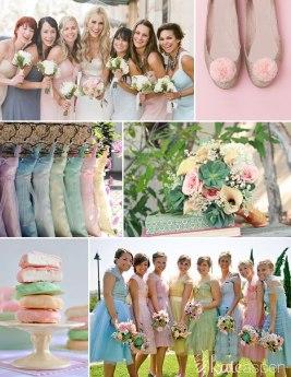 bridesmaidspastel