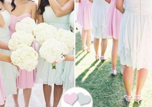 Dusty-Aqua-and-Blush-Bridesmaid-Dresses-For-Summer-Wedding