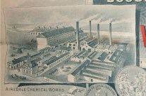 The Airedale Chemical Works (Wood & Bedford) around 1850