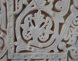Carved marble , Madinat-al Zahra