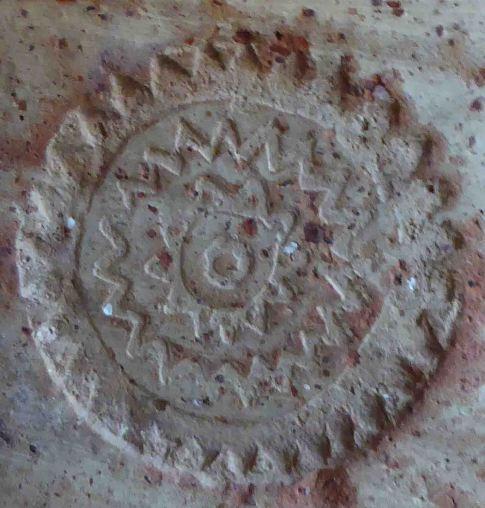 Stamp on jar, Arab baths, Alcázar Córdoba