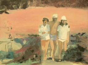 """""""Angine"""" acrylique sur toile, 2011, 41x31cm*"""