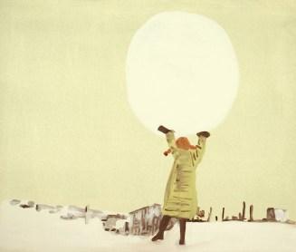 """""""Août"""" 2011, acrylique sur toile,41x31cm*"""