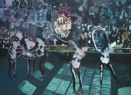 """""""Baleine"""" 2012,acrylique sur toile, 56x40cm*"""