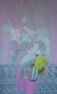 """""""Cauchemar"""" acrylique sur toile, 170x100, 2013*"""