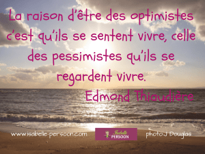 citation optimisme
