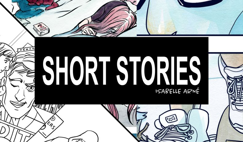 Comic short stories Isabelle Arne