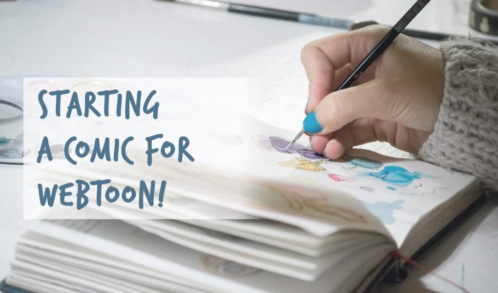 starting a comic on webtoon
