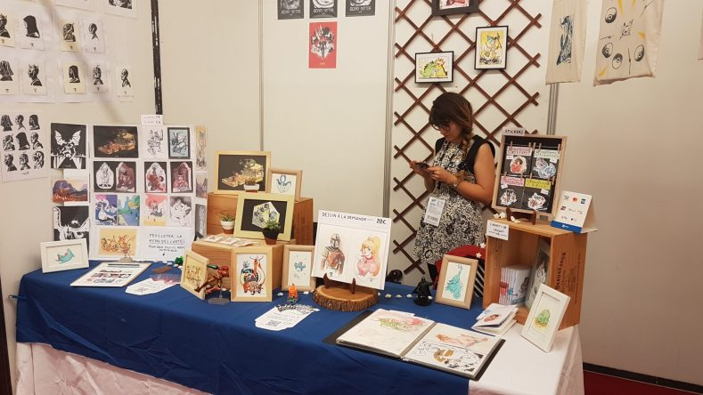 tabling at a convention
