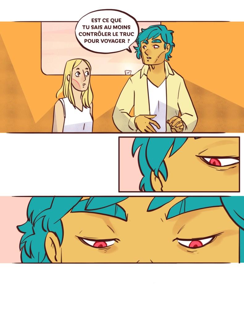 Isabelle arne Radiant BD web comic