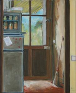 """oil on canvas """"chez Sophie"""""""