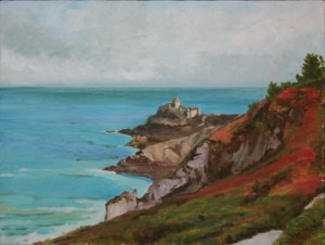 "oil on canvas ""le fort la latte"""