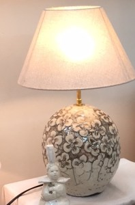 fabrication d'un pied de lampe